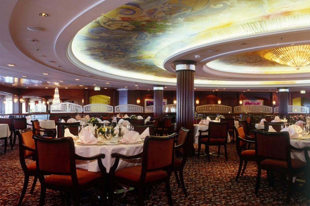 Crystal Serenity's Dining Room
