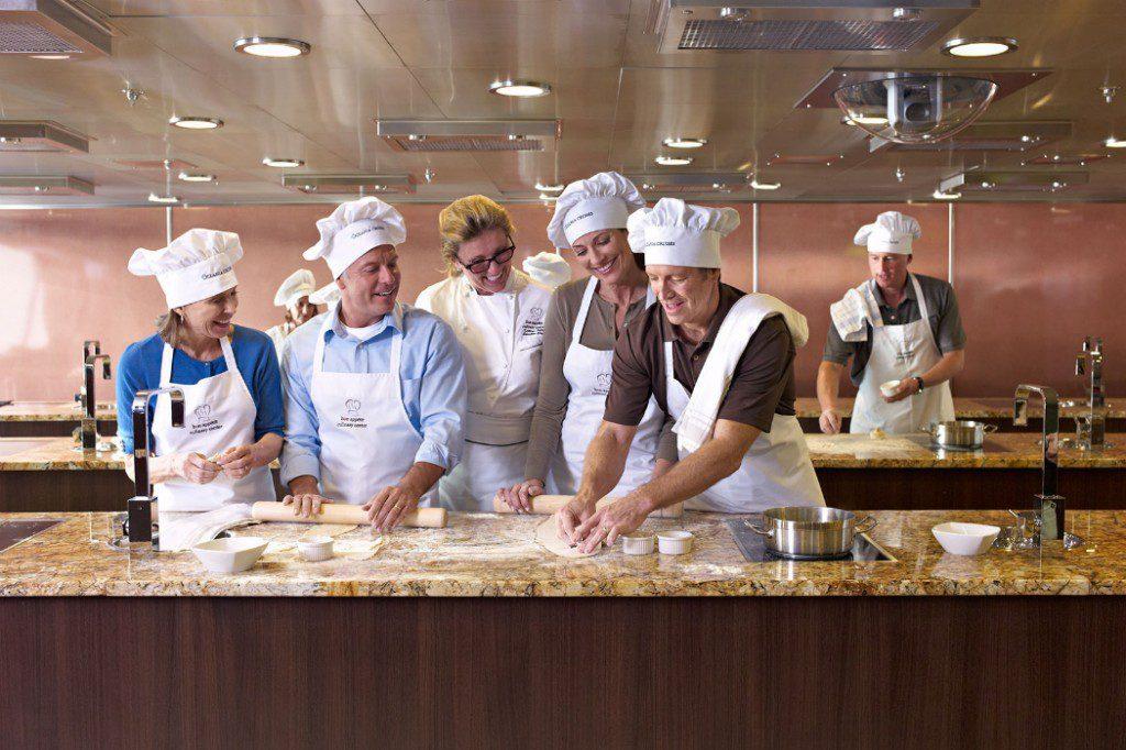 Oceania's Culinary Center Class