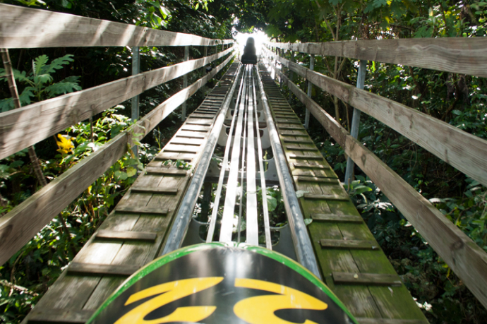 Ultimate Shore Excursions: Jamican bobsled