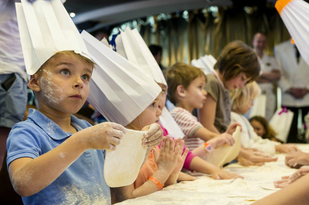 Ship V Destination: Kids' cookery classes