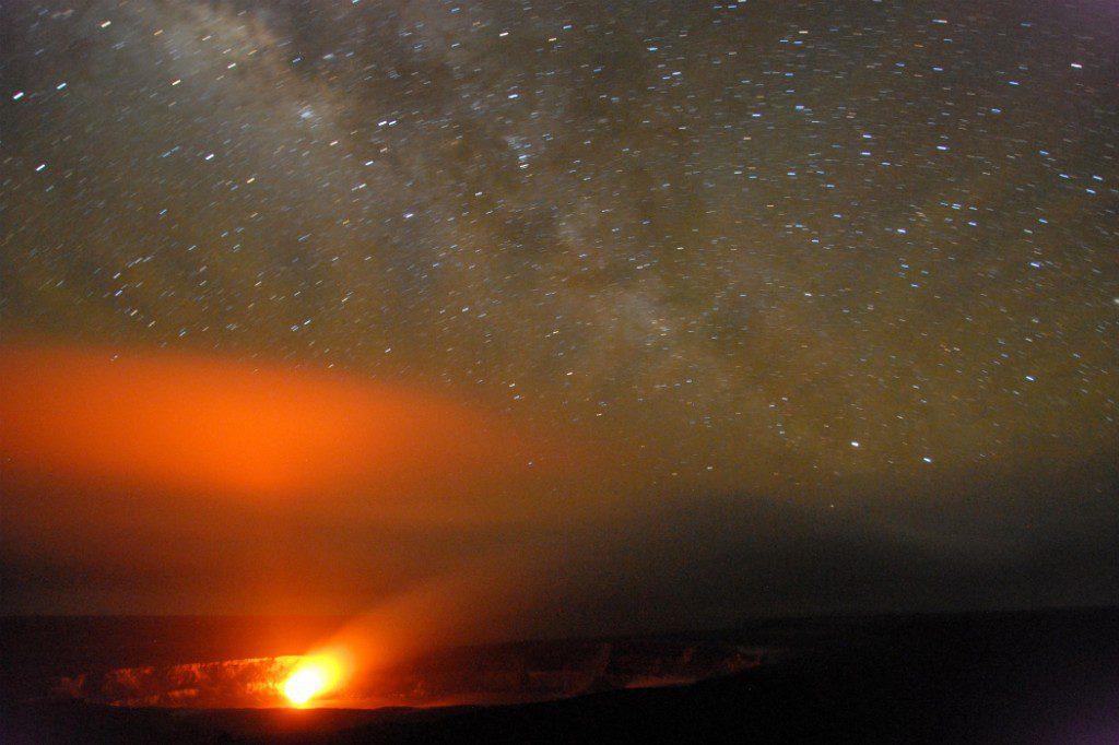 Kilauea Volcano flyover