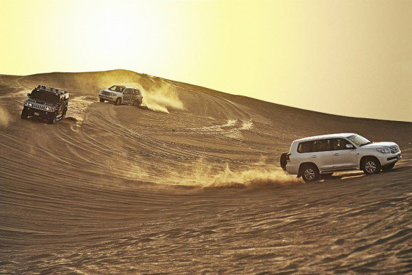 Middle East: Dune driving