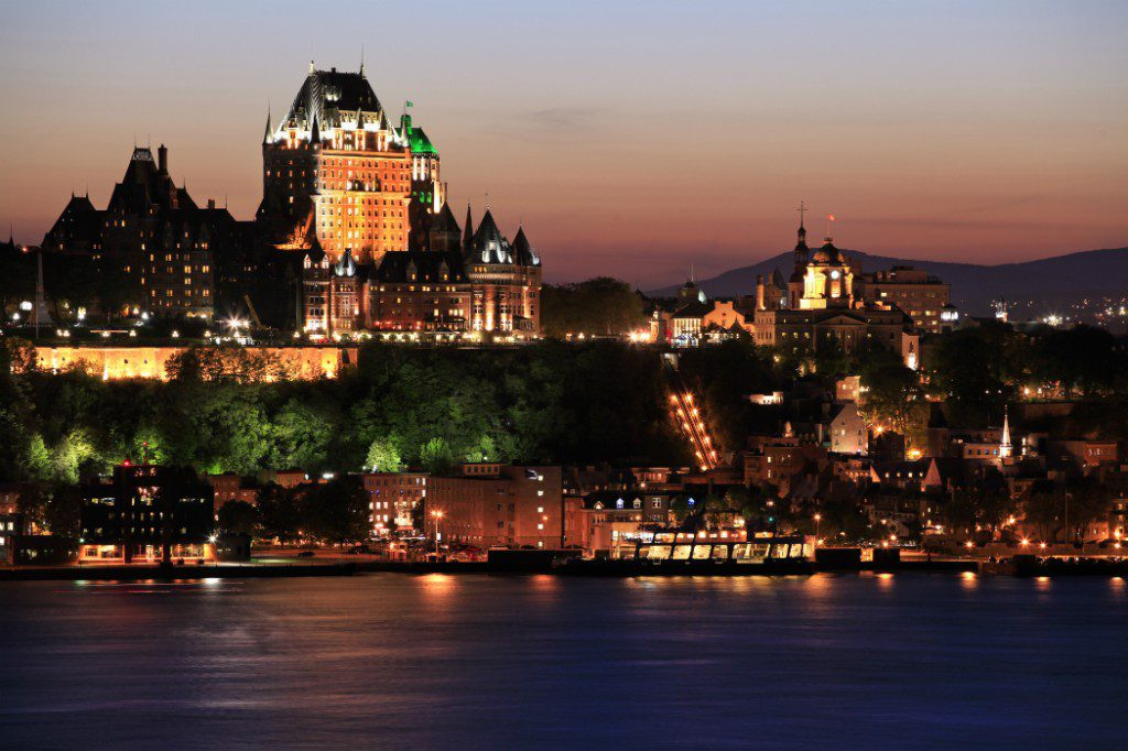 New England: Quebec