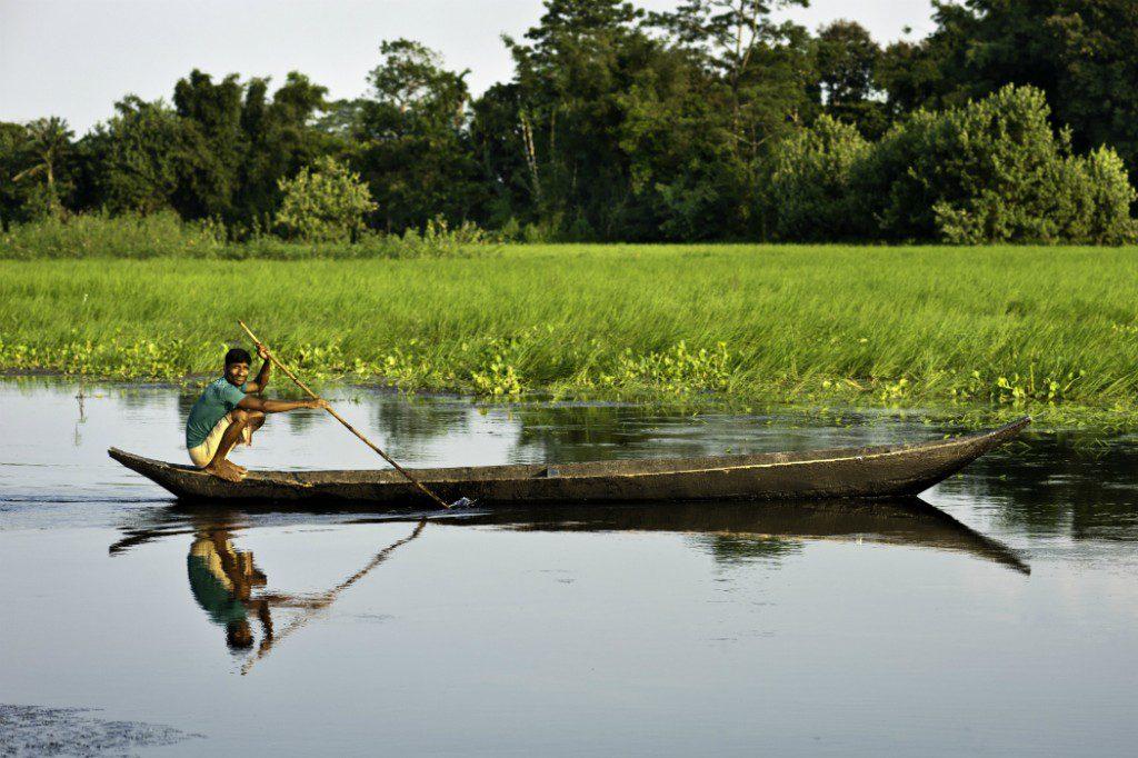 Asian waterways: Brahmaputra River