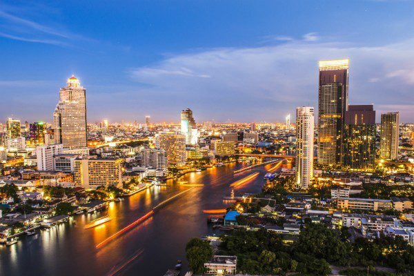 Asian waterways: Bangkok
