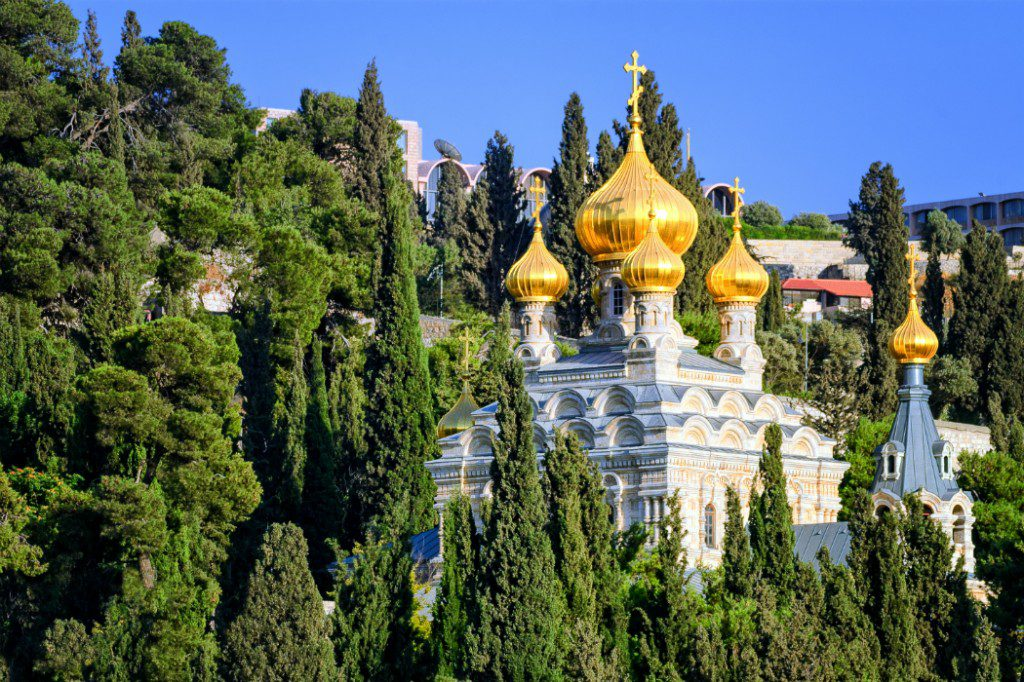 Holy Land: Maria Magdalena Church, Mount of Olives, Jerusalem