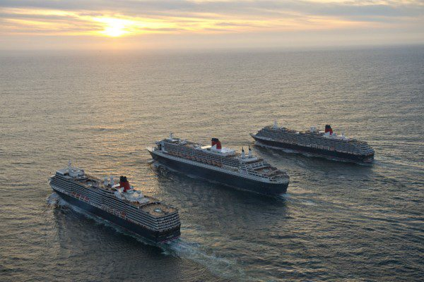 Three Queens Cunard programme