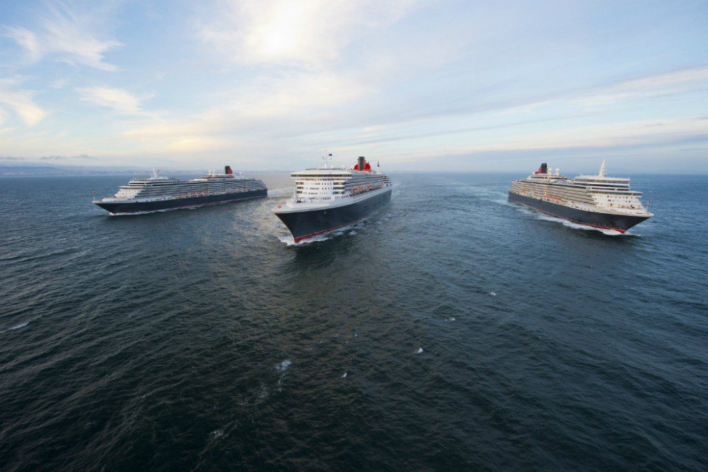 Ships: Three Queens