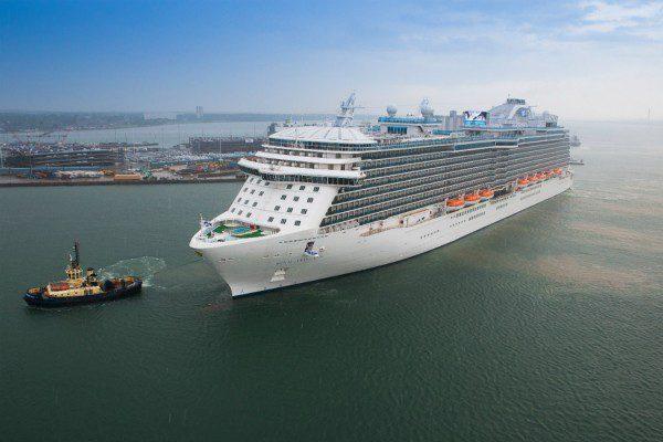 ITV The Cruise Ship: Royal Princess