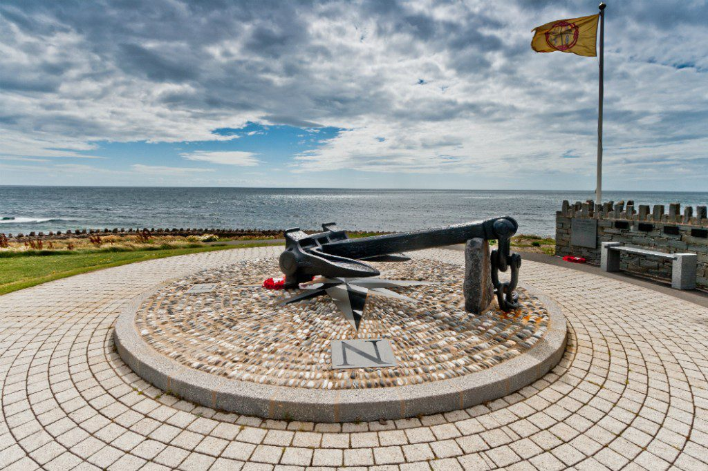 Dunkirk memorial at Port St. Mary