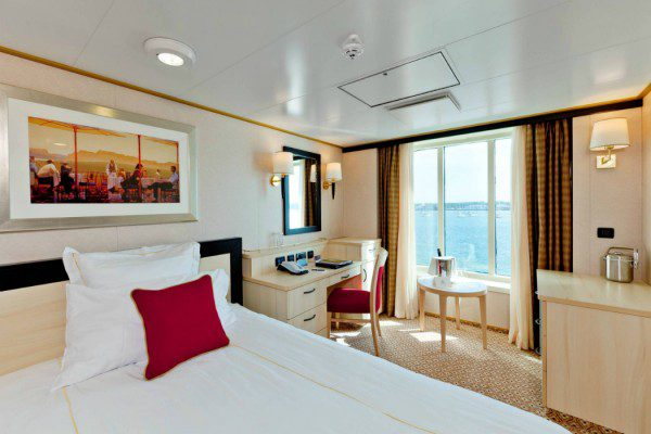 Queen Elizabeth refit Single Stateroom