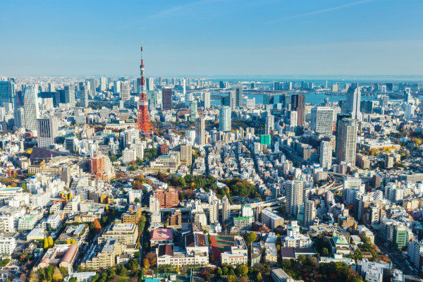 2017 itinerary includes Tokyo