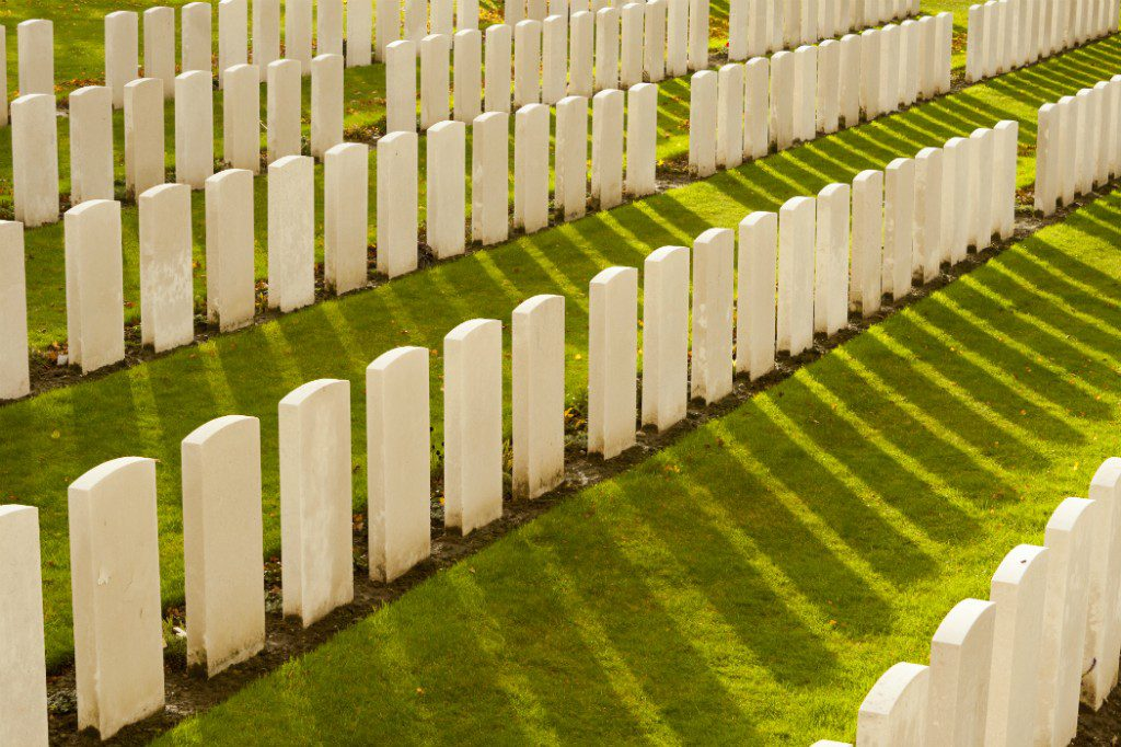 d-day: Tyne Cot Cemetery