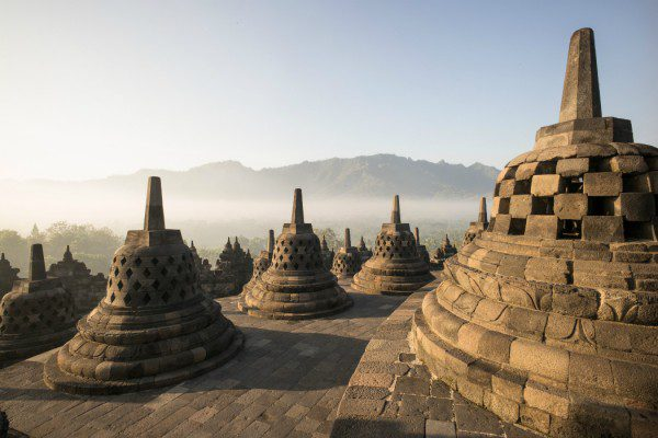 unesco: Borobudur, Java