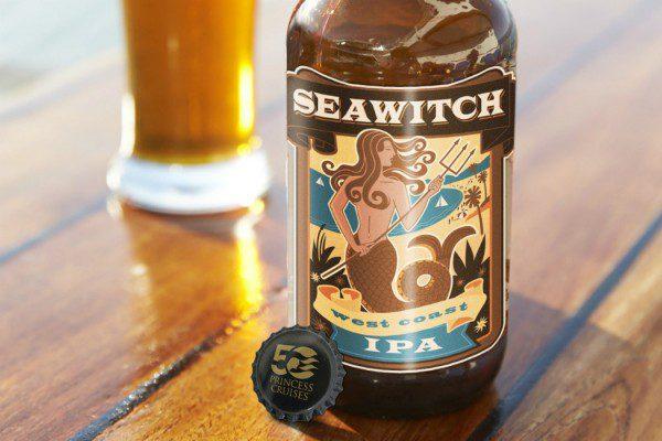 SeaWitch Label beer Princess