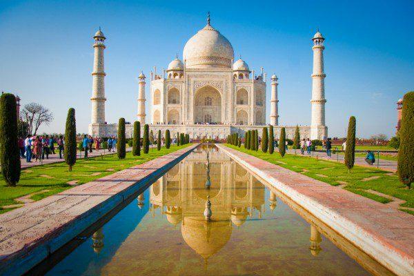 Taj Mahal Ganges India Uniworld
