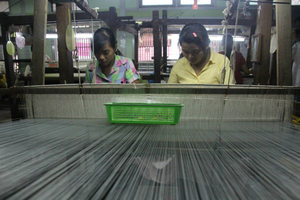 Women at work in a factory