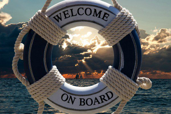 Life ring welcome