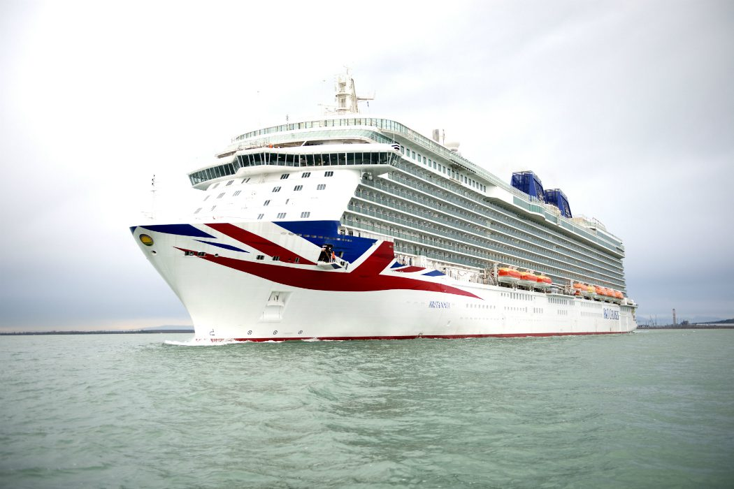 P&O Cruises takes delivery of Britannia