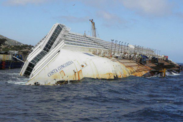 Costa Concordia cocaine