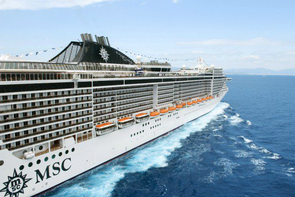MSC Splendida Tunisia
