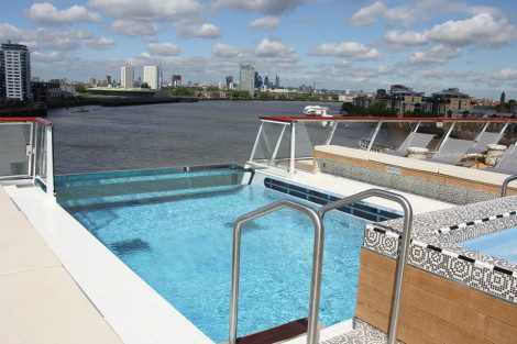 Viking Star's infinity pool