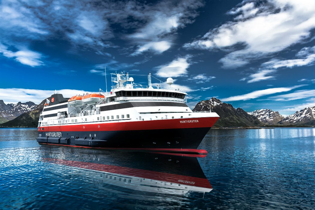 Hurtigruten new ship Norway Explorer