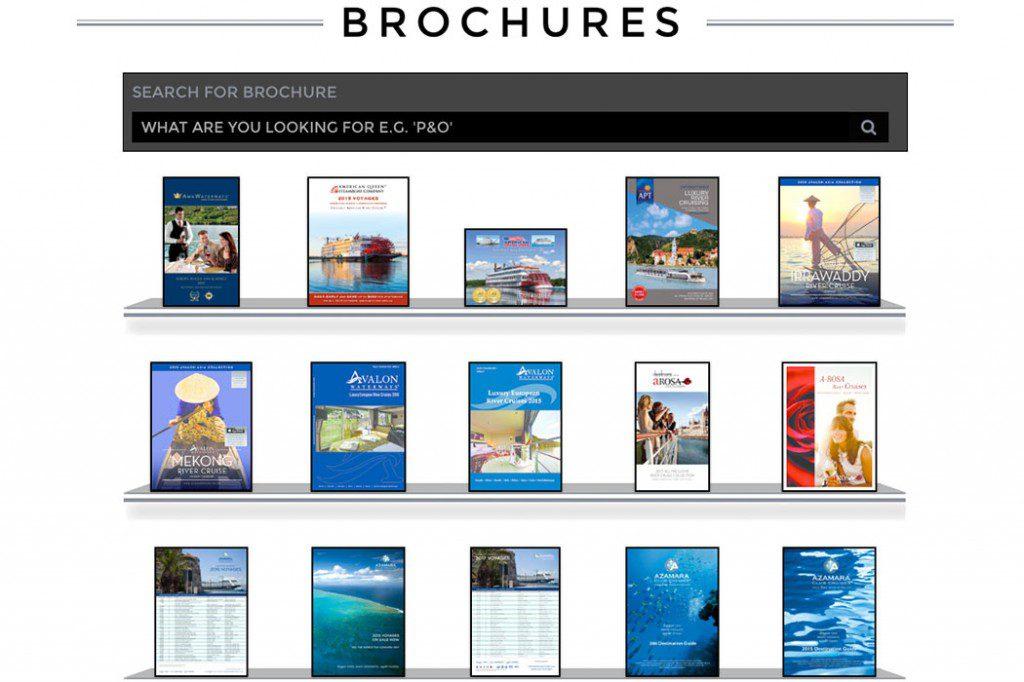 Brochure rack