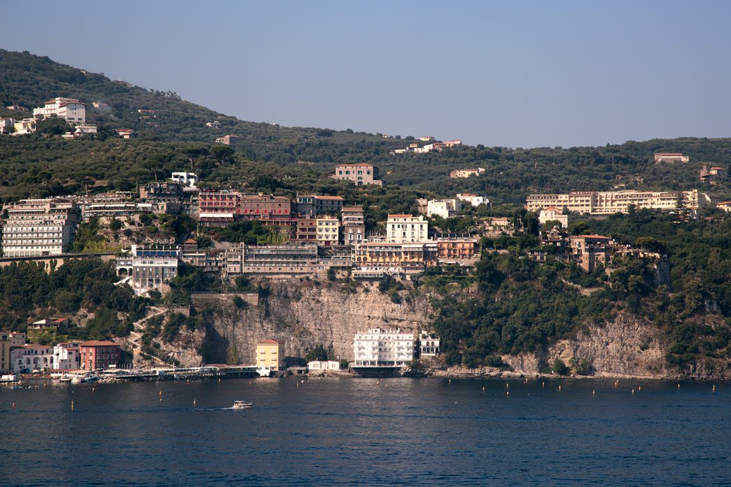 The beautiful town of Sorrento