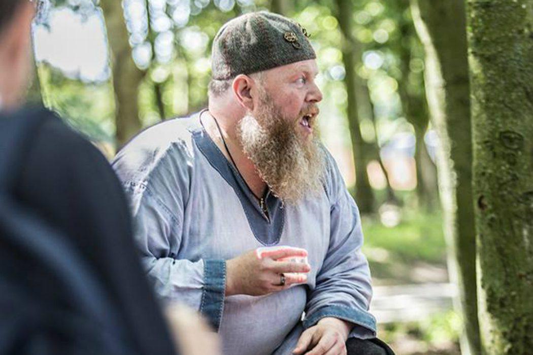 Jesper, our Viking chef