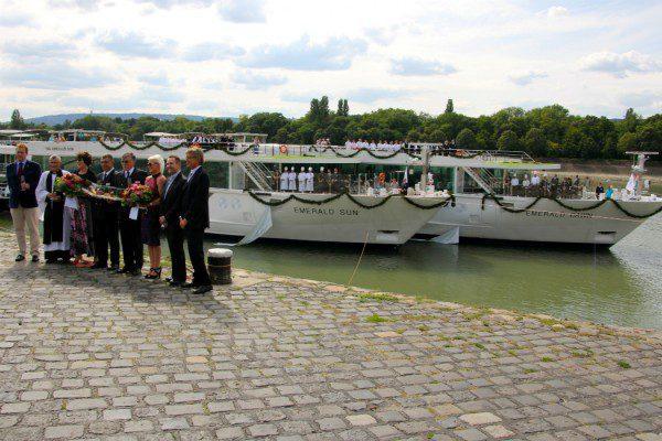 Emerald Waterways launch