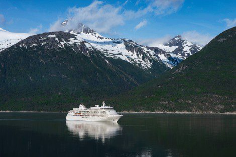 The Silver Whisper in Alaska