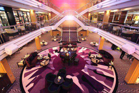 The ship's atrium