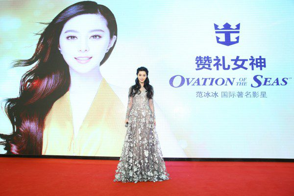 Ovation of the Sea film star
