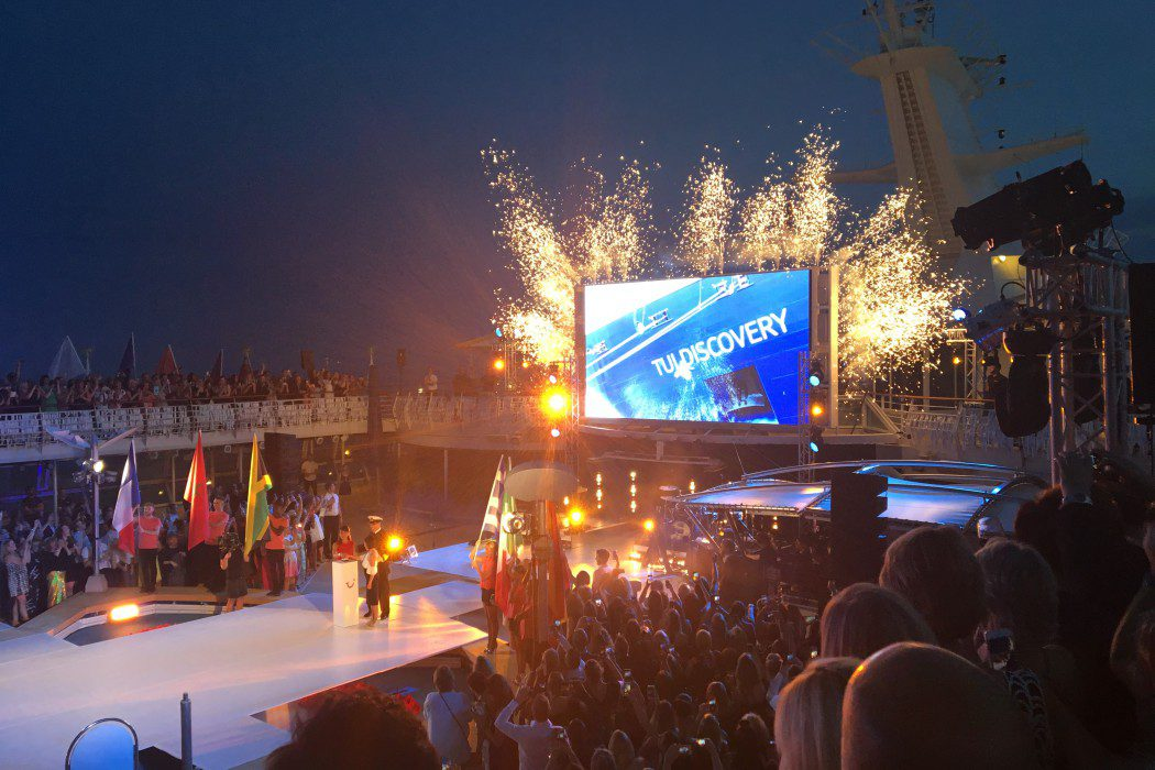 Tui Discovery Christened In Palma