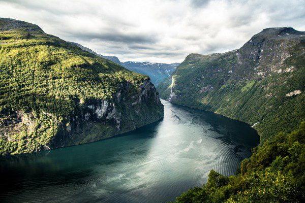 The world-famous Geraingerfjord