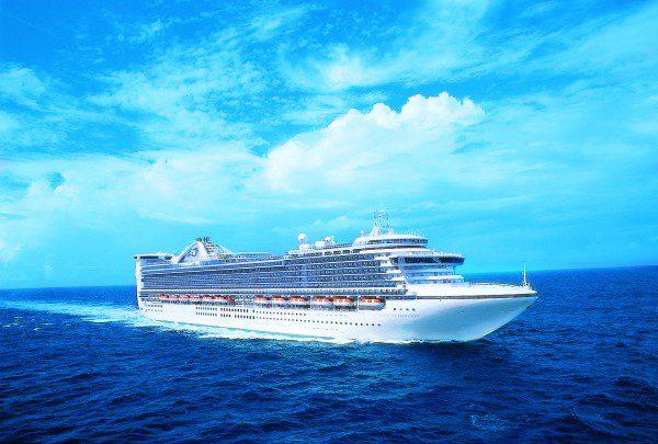 caribbean-princess-at-sea