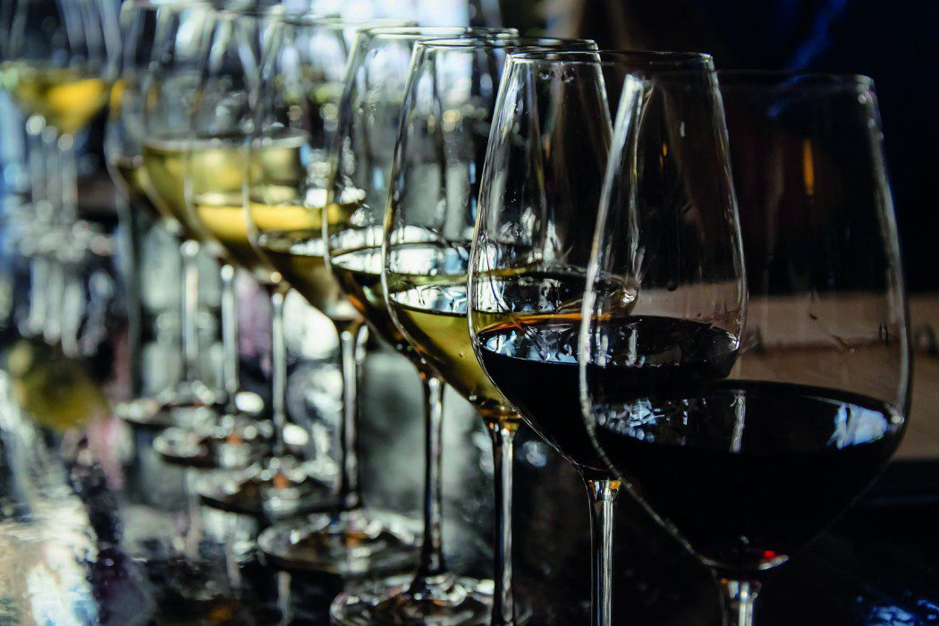 Guests will enjoy free wine with dinner while on board