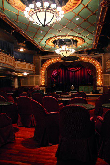 The theatre, modelled on Ford's Theatre