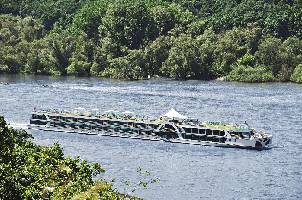 Brabant cruising the River Rhine