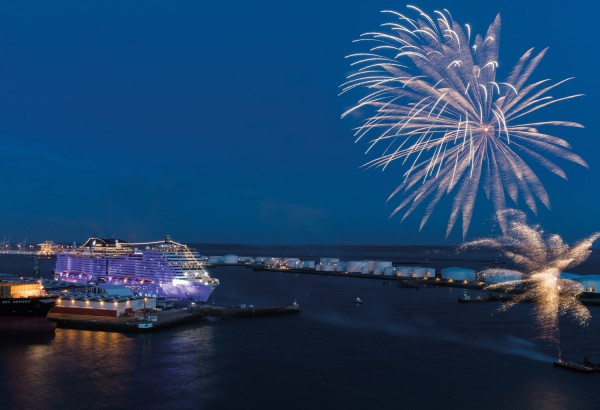Fireworks-complete-the-christening-of-MSC-Meraviglia