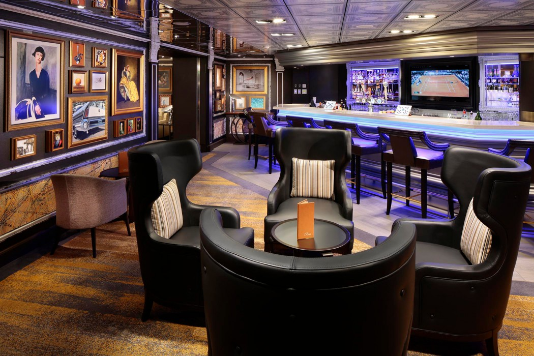 Gallery Bar - Deck 2 Midship Portside Westerdam - Holland America Line