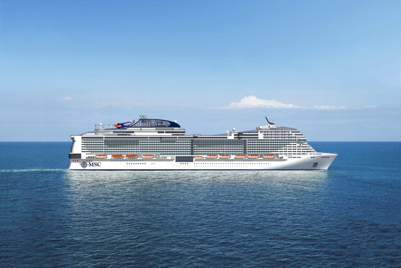 MSC names new ship MSC Grandiosa