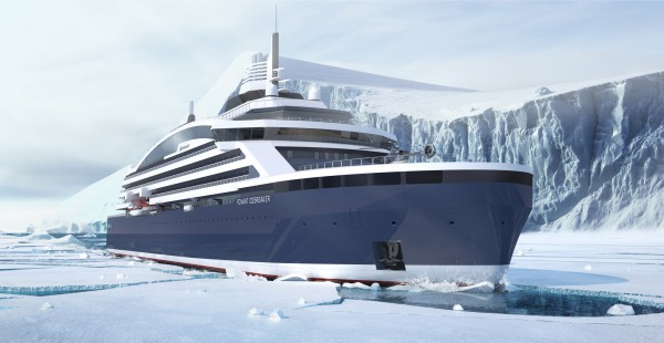 Bow View_ICEBREAKER (c) PONANT STIRLING DESIGN INTERNATIONAL