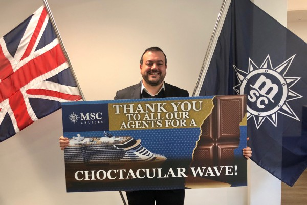 MSC Cruises thanks travel agents for their support