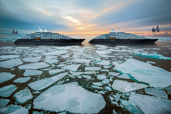 Scenic Eclipse II -Pancake Ice in the High Arctic resize