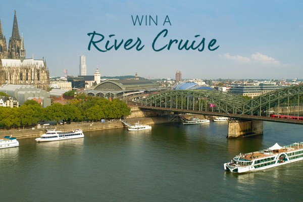 Win a river cruise banner