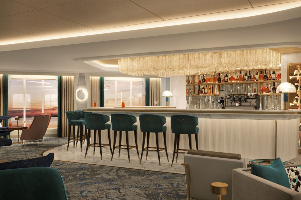 The Crystal Cove Bar on Crystal Endeavor