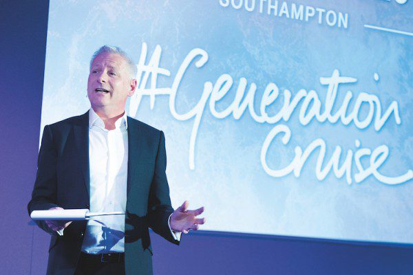 Andy Harmer, CLIA  CLIA UK Conference 2018. Southampton. Generation Cruise.    Photo by Steve Dunlop steve@stevedunlop.com www.stevedunlop.com +447762084057