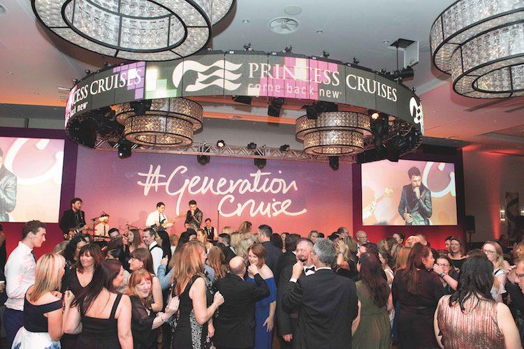 Band sponsored by Princess Cruises. Gala Dinner. CLIA UK Conference 2018. Southampton. Generation Cruise. Photo by Steve Dunlop steve@stevedunlop.com www.stevedunlop.com +447762084057 Gala Night.